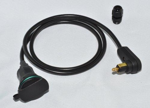 BAAS Verlängerungskabel / Tankrucksack Stromversorgung ZA15 Belastbarkeit Strom max.=8 A Passend f