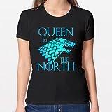 Positivos Camisetas Mujer/Chica - diseño Original Queen in The North...