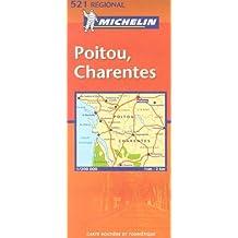 Carte routière : Poitou Charentes, N° 11521
