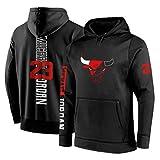 Anpassen Chicago Bulls Hoodie Basketball Herren Hoody Jordan Irving Hip Hop Sweatshirt