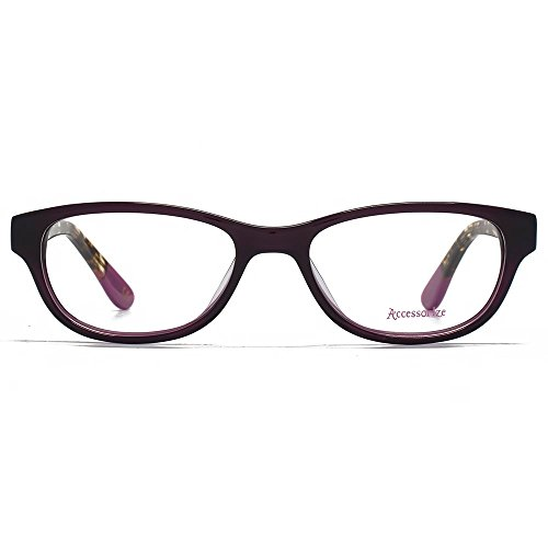 Accessorize Lunettes Rectangle doux en violet ACS006-PUR clear