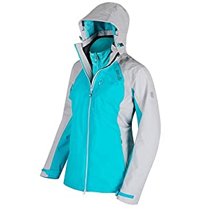 415DStefUoL. SS300  - Regatta Womens/Ladies Carletta II Waterproof Breathable Walking Jacket