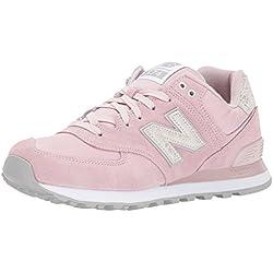 New Balance 574, Zapatillas Deportivas Mujer, Rosa (Pink), 39 EU