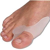 Mi Ji 2Gel Bunion Protector Toe Straightener Spreader correctors Podiatrist Treatment
