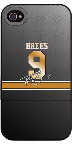 Drew Jersey (Coveroo Schiebe-Schutzhülle für iPhone 4 / 4S, Farb-Jersey, 1 Stück, Drew Brees)