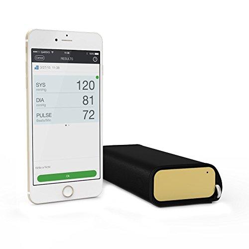 QardioArm kabelloses Blutdruckmessgerät (für Apple iOS und Android) - Gold