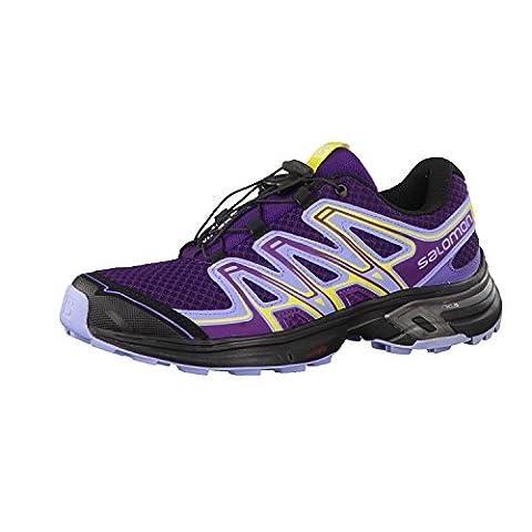 Chaussures de trail Salomon Speed Cross Vario GTX 45 Violet/jaune