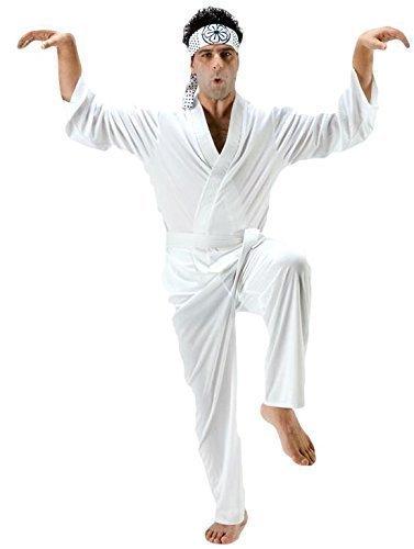 Kostüm Kid Karate Daniel - Herren Karate Kid Daniel San Judo Sport TV Film 1980s Jahre Kostüm Kleid Outfit