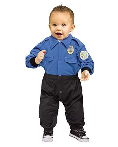 Uniform Baby-Strampler als Kostüm-Anzug für Fasching L ()