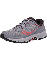 Saucony Excursion TR 13 Grey/Coral, Zapatillas de Atletismo para Mujer