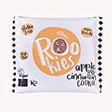 Rookies | Gluten free oat and fruit cookie with Apple and Cinnamon 40g | 2 x 40g (FR)