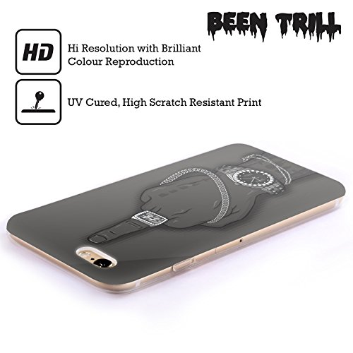 Official Been Trill Hoodies Gold Bling Blings Soft Gel Case for Apple iPhone X Watch Silver