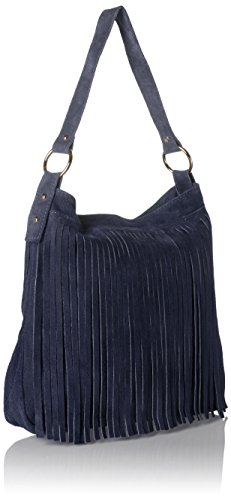 Bags4Less - Tipi, Borsa a tracolla Donna Blau (Navyblau)