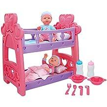 COLORBABY Set bebés Gemelos con Cuna y Accesorios ...
