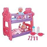 COLORBABY Set bebés Gemelos con Cuna y Accesorios (43707)