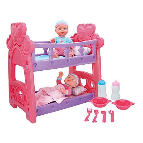 ColorBaby - Bebés gemelos blanditos cuna accesorios