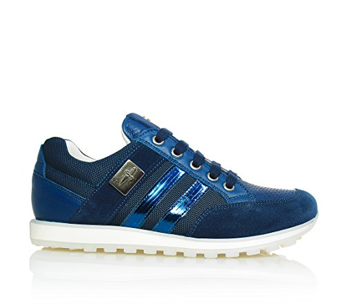 cesare-paciotti-blue-lace-up-shoes-made-of-fabric-and-leatherchildboyboysman-1-uk