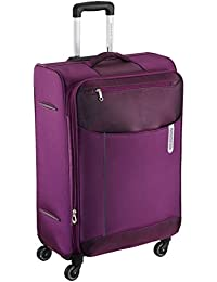 American Tourister Portugal Polyester 69.5 cms Plum Soft Sided Suitcase (AMT Portugal SP 69CM Plum)