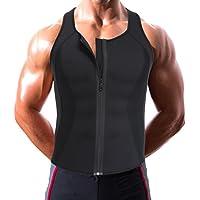 Sport Neopren Sweat Herren Weste, Tank Top Korsett Abnehmen Body Shapewear