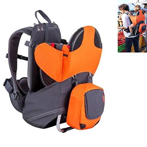 YAMEIJIA Porte-Sac à Dos pour bébé Premium avec Sac à Dos Amovible-2 en 1 pour la randonnée avec Les Enfants – Portez Votre Enfant ergonomiquement
