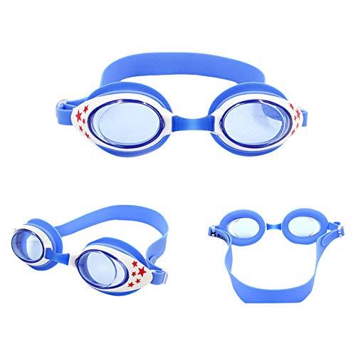 TAOtTAO Kinder Schwimmbrille Masken Kinder Kinder Schwimmbrille einstellbare Schwimmbrille Wasserdichte und beschlagfreie Schutzbrille (A)