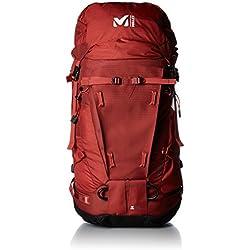 Millet Peuterey Integral–Mochila de alpinismo para hombre, color rojo, tamaño talla única, volumen liters 45.0
