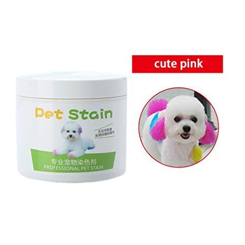 Vikada 100ML Tinte para el Cabello para Mascotas Tinte no tóxico semipermanente...