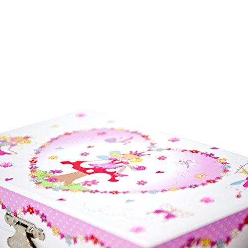 Magische Fee bezauberndes Schmuckkästchen - Spieluhr für Kinder - Lucy Locket - 4