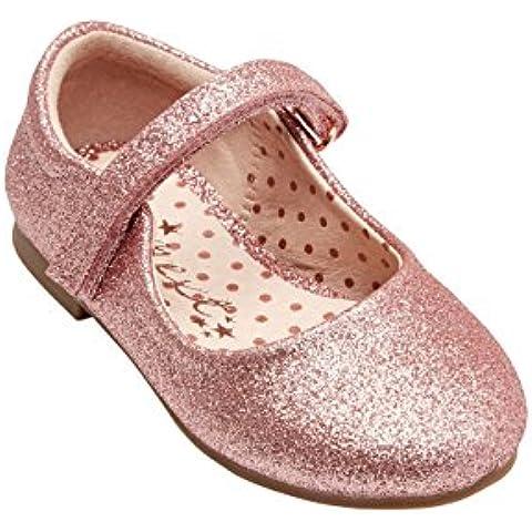 next Niñas Infantes Zapatos Merceditas De Charol De Lujo Elegante (Niña Pequeña)