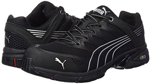 Puma  642580.43 Fuse Motion Black Chaussures de sécurité Low S1P HRO SRA Taille 43 Noir (Schwarz)