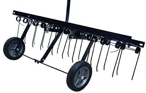 BULTO Entmooser Rasenstriegel Rasenkamm Rasenlüfter RS 100 – Arbeitsbreite 100 cm