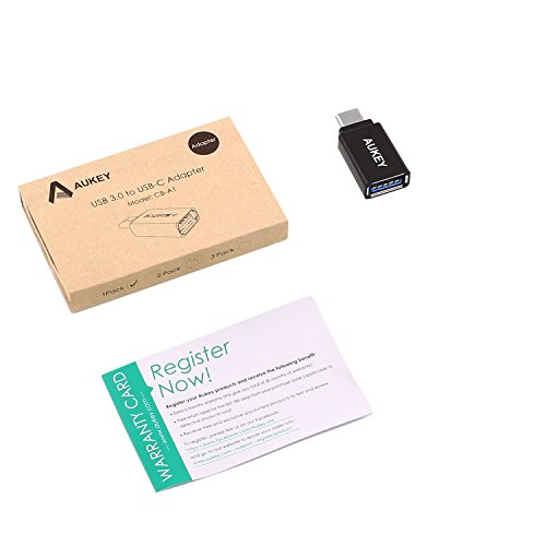 415Dg6mUbRL - [Amazon.de] AUKEY USB-C auf USB 3.0 Adapter für nur 1,99€ als Plus Produkt