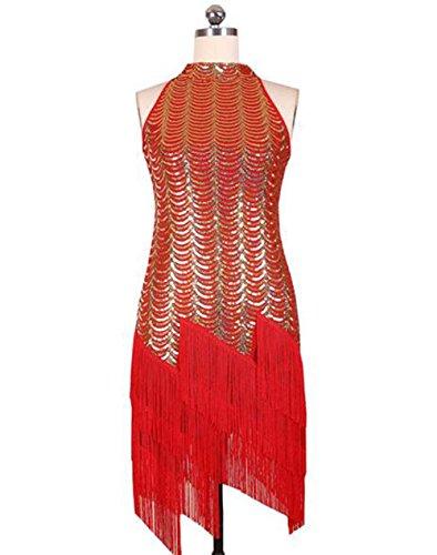 leidung weiblicher Erwachsener Kostüm Wettbewerb Quaste Kleid Rock, m ()