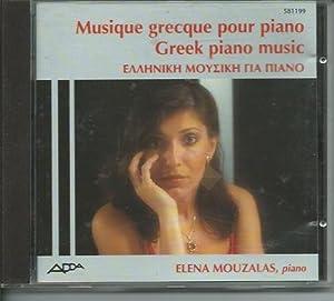 Plays Greek Piano Music