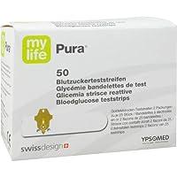 MYLIFE Pura Blutzucker Teststreifen CPC 50 St preisvergleich bei billige-tabletten.eu