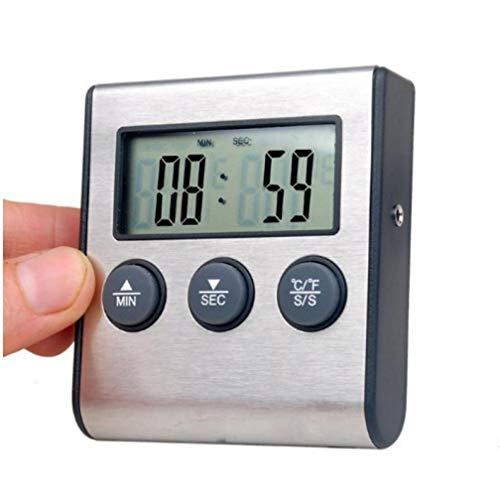 Gamloious Temperaturmessgeräte Digitale Ofen Thermometer Küche Essen Kochen Fleisch BBQ-Thermometer-Cooking Tools
