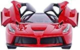 Kids Goods Best Deals - Brunte Famous car 1:16 kids Red Racing openable door and remote controlled car