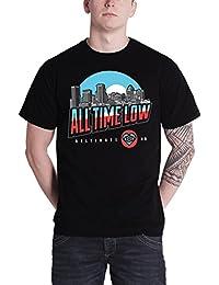 All Time Low band logo baltimore nouveau officiel Homme Noir T Shirt