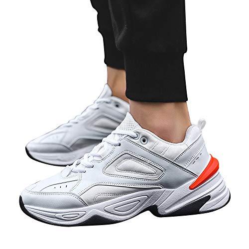 47532527a0bcc JiaMeng Zapatos De Running Deportivas para Correr Hombre Ocio Aire ...