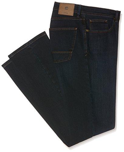 Hattric Herren Straight Jeans Blau (Dark Blue Denim 89)