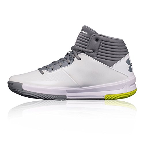 Under Armour Ua Lockdown 2 Chaussures de Basketball Homme white