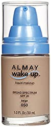 Almay Wake-Up Liquid Makeup, Beige-050, 1.0 Fluid Ounce