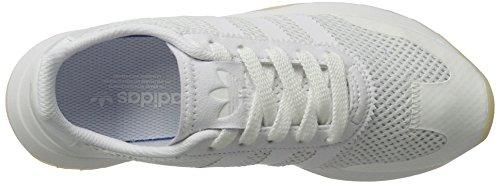 adidas Flashback, Scarpe da Ginnastica Basse Donna Bianco (Footwear White/footwear White/footwear White)