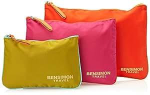 Bensimon Organiseur de Sac à Main Poche Zippé Multicolore (Assortiments)