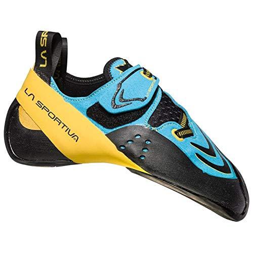 La Sportiva Futura Kletterschuhe Blue/Yellow