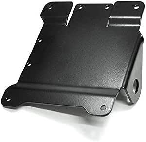 Nero colore IBEX 10000828 Portatarga laterale