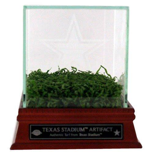 Steiner Sports Dallas Cowboys Texas Stadium Spiel verwendet Turf mit geätztem Glas Display Fall