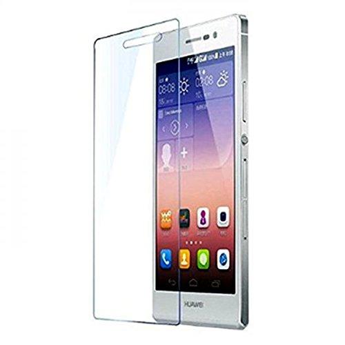 ECENCE 1x Panzerfolie 3D Touch Schutzglas Echt Glas kompatibel für Huawei Ascend P7 Mini 0.33mm dick 9H Tempered Glass 44010308