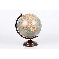 dcasa - Bola del mundo Globo terráqueo decorativa (diámetro de 30cm)