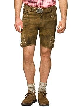 Stockerpoint Herren Trachten Lederhose Hose Corbi3